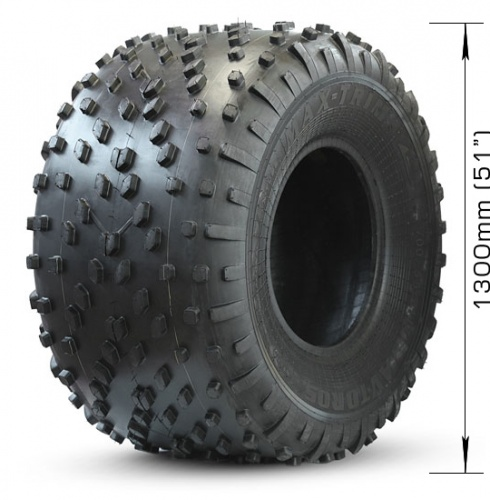 Low-pressure tire AVTOROS  MAX-TRIM with 2 layers