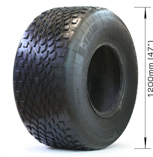 Low-pressure tire AVTOROS  S-TRIM with 2 layers