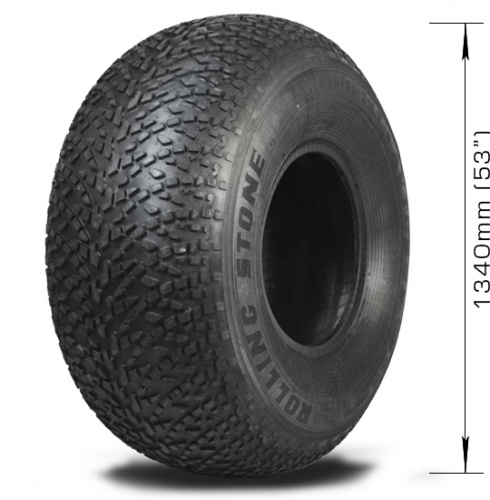 Low-pressure tire AVTOROS Rolling Stone with 4 layers