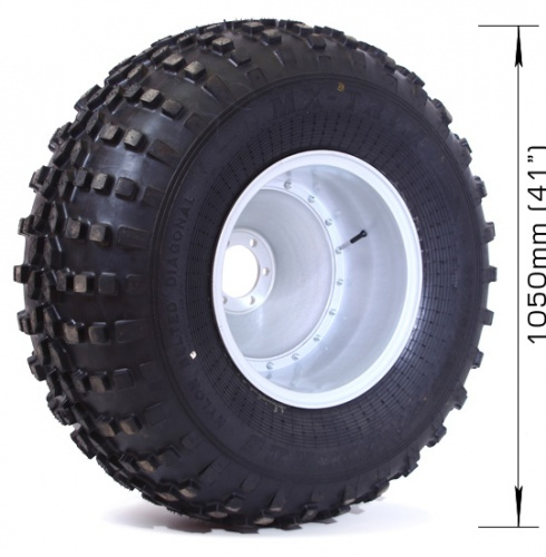 Assembled wheel MX-TRIM (4 layers) with 6х139,7, DIA 110 disk