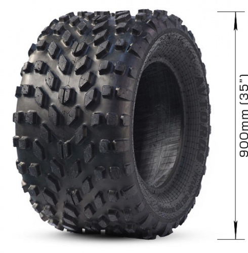 Low-pressure tire AVTOROS  M-TRIM with 4 layers