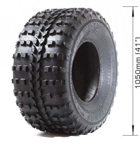 Low-pressure tire AVTOROS  MX-TRIM with 2 layers