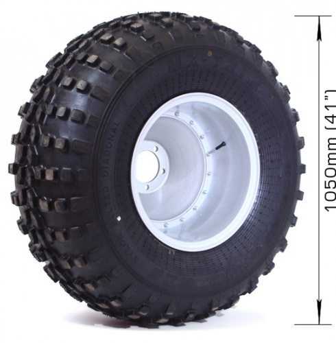 Assembled wheel MX-TRIM (4 layers) with disk for UAZ, NIVA