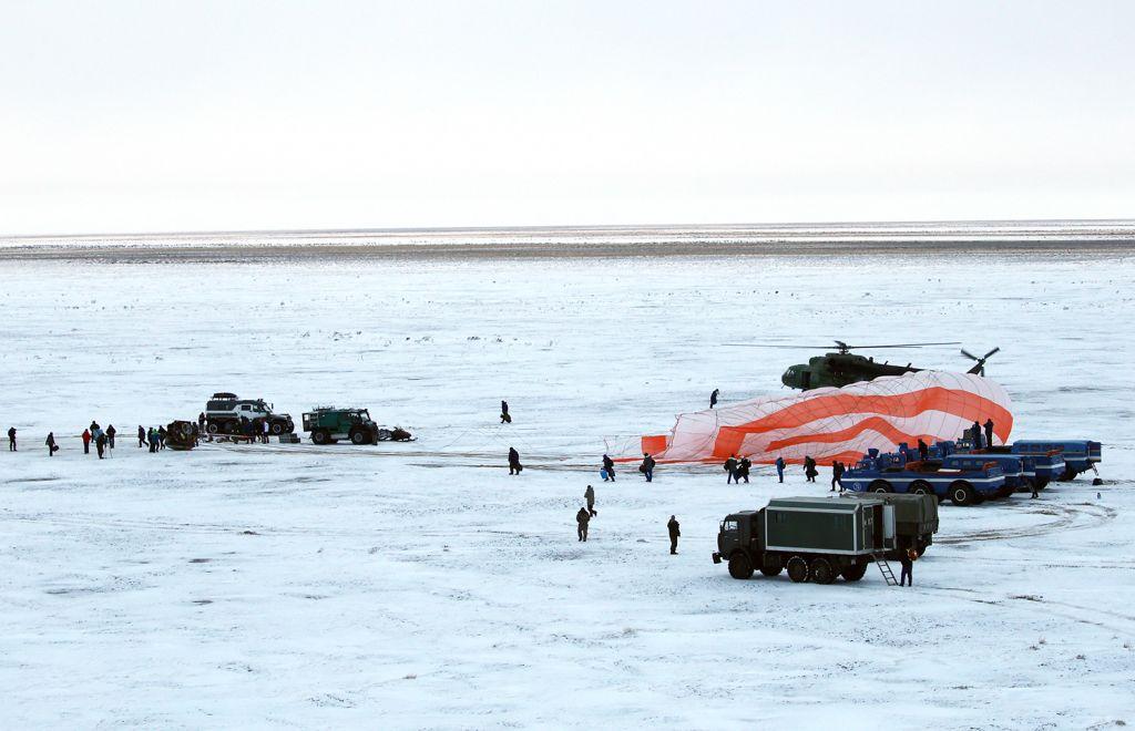 Спасательная операция экипажа МКС